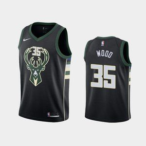 Men's Milwaukee Bucks Christian Wood Jersey